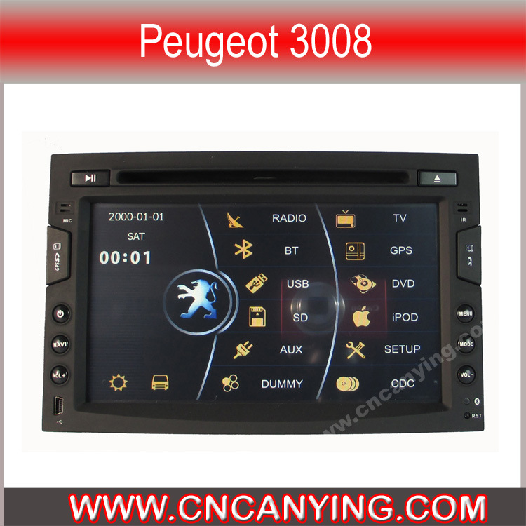 dvd especial del coche para peugeot 3008 cy 3800 dvd especial del coche para peugeot 3008. Black Bedroom Furniture Sets. Home Design Ideas