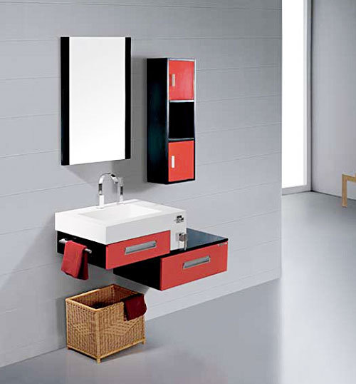 Cabinet de salle de bains kl 345 cabinet de salle de for Cabinet pour salle de bain