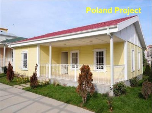 Casa modular ligera de la estructura de acero pd 1 - Casa modular acero ...