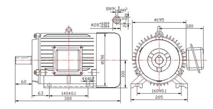 High Speed Permanent Magnet Motor
