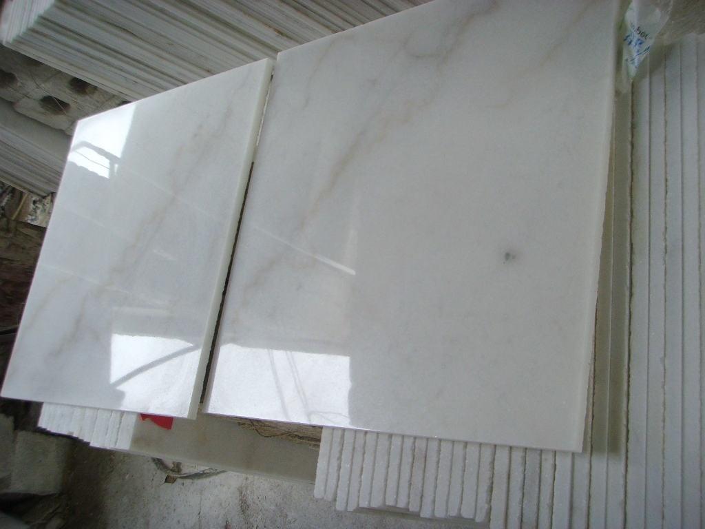 De witte marmeren tegels van china guangxi voor decoratie de witte marmeren tegels van china - Deco witte tegel ...