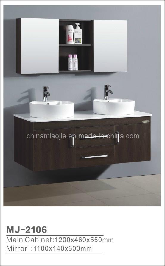 Muebles modernos del cuarto de baño del MDF (MJ2106) – Muebles