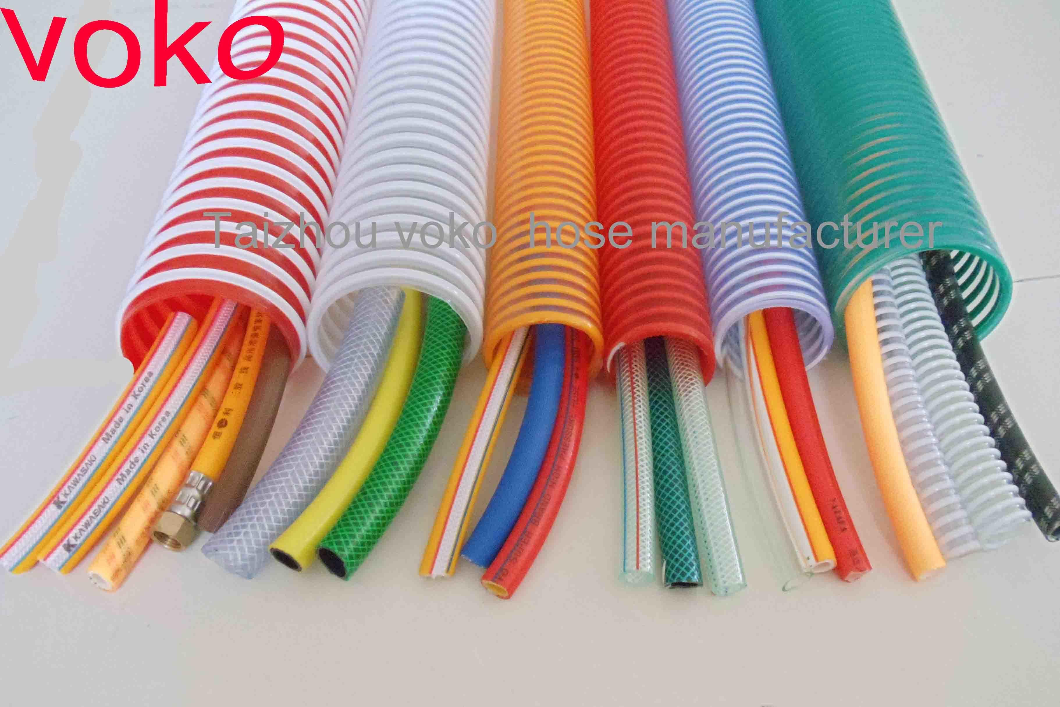 Tubo flessibile flessibile dell 39 acqua del pvc di taizhou for Tubo di scarico del riscaldatore dell acqua