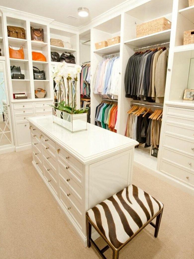 Foto de MDF Armario Closet de ropa blanca para Muebles Dormitorio en