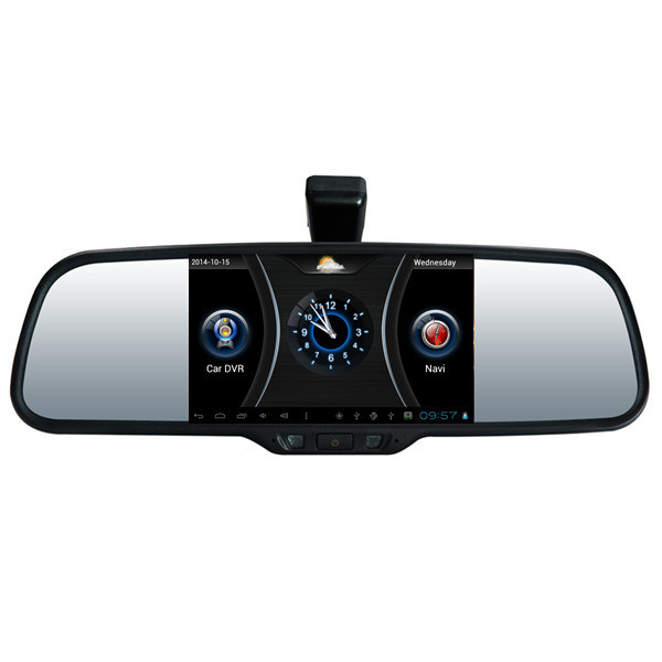 39 39 voiture gps d 39 appareil photo de voiture de miroir de for Miroir hd wireless