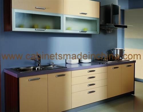 Gabinetes de cocina modernos de la melamina m1001 for Gabinetes de cocina en melamina