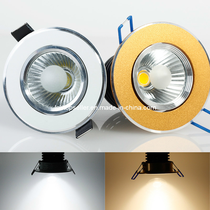 15w cob support dimmable led down light td0050 15w cob for Arredamento made in china