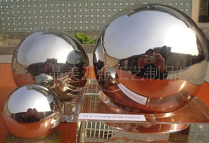 Boule d corative d 39 acier inoxydable de jardin boule d corative d 39 acier inoxydable de jardin - Boule decorative pour jardin ...