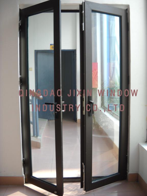 Puerta de aluminio doble puerta de aluminio doble - Cerramientos de aluminio precio por metro cuadrado ...