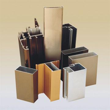 Extrusi n de aluminio aluminio perfil de aluminio para - Tipos de perfiles de aluminio ...
