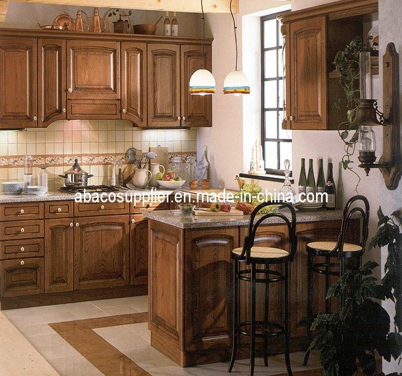 Muebles de madera cl sicos de la cocina sw 49 muebles for Muebles cocina clasicos