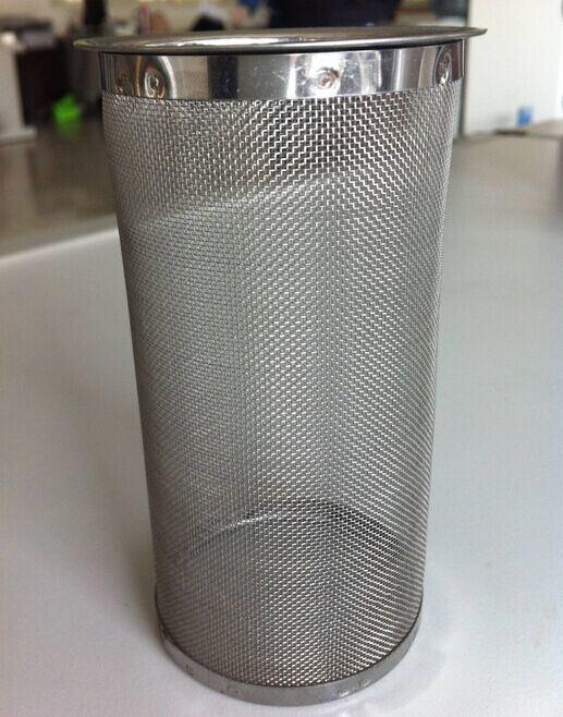 Filtro Del Cilindro Del Acoplamiento De Alambre De Acero
