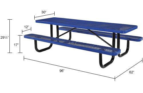 금속 픽크닉 테이블 공원 벤치 – 금속 픽크닉 테이블 공원 ...
