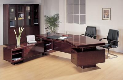 Escritorio de oficina de lujo de los muebles de oficinas for Muebles de oficina que es