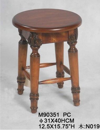 Sgabello di legno sgabello di legno antico di disegno for Arredamento made in china