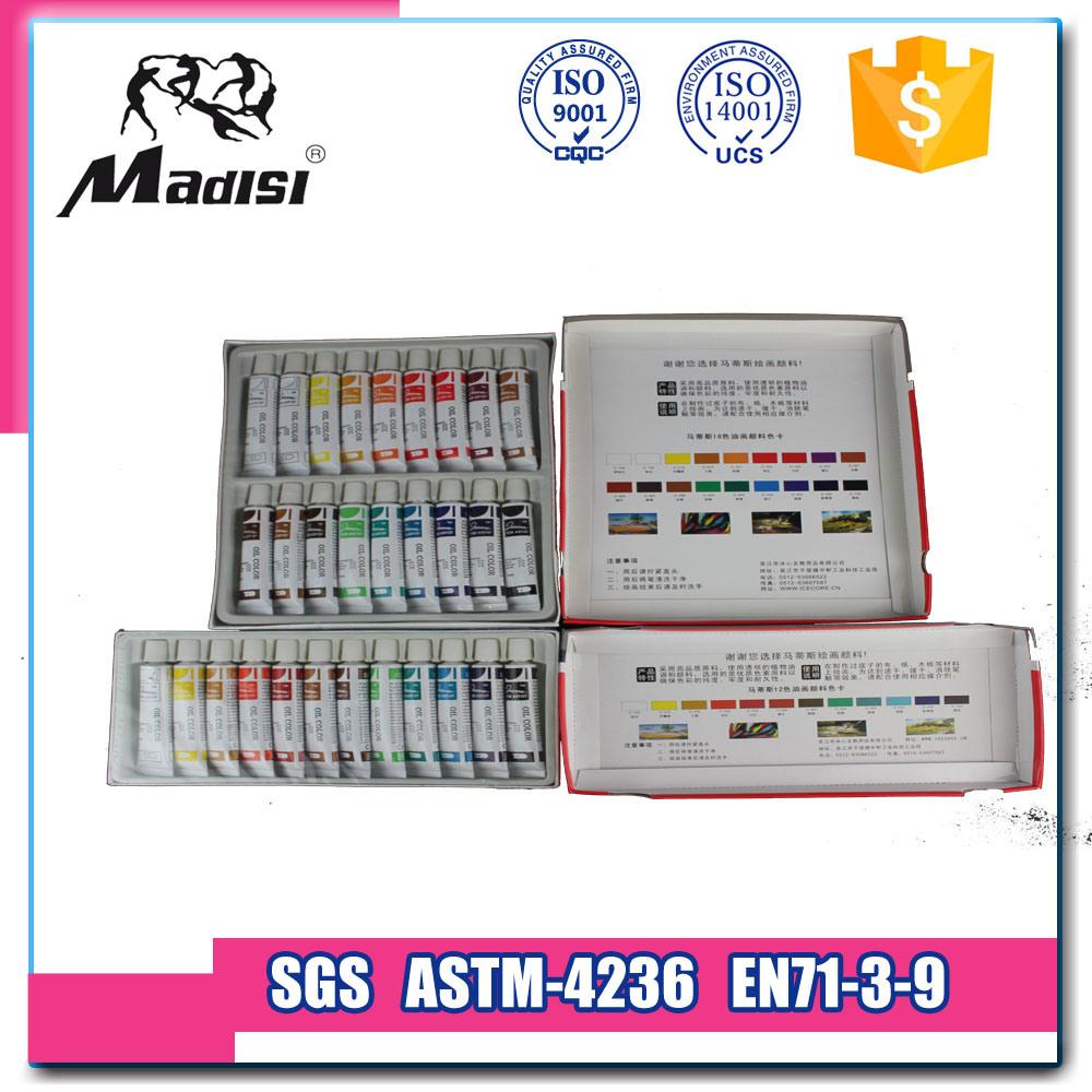 Peinture l 39 huile fluorescente de souillure intense de prix bas avec la - Peinture a l huile prix ...