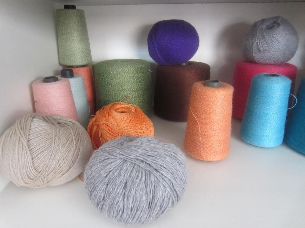 Нитки для вязания полиэстер