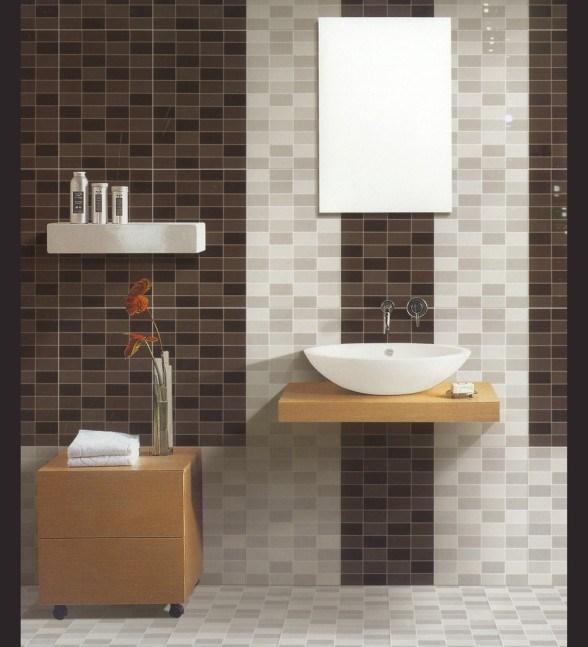 Petits meubles jaunes modernes de salle de bains r gl s for Meuble salle de bain jaune