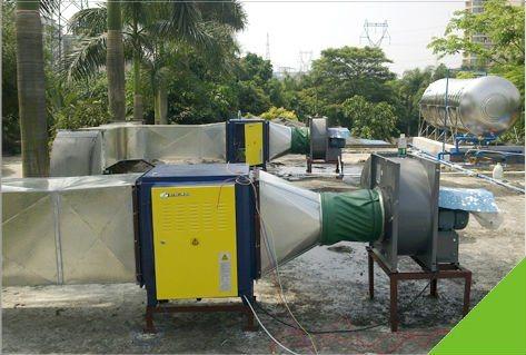 Purificador electrost tico del aire del extractor de la - Purificador de cocina sin salida ...