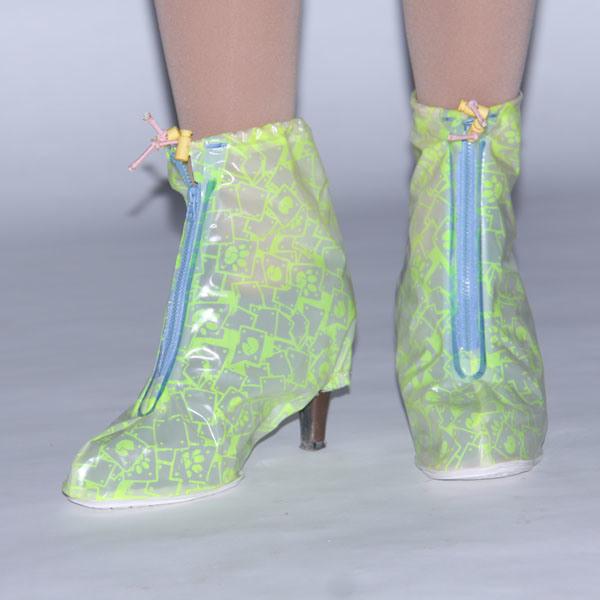 high heel waterproof shoe covers for rainy days py 502