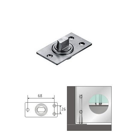 De scharnier van de spil van de as van de vloer van de deur van de schommeling van het glas kl - Douchekamer model ...