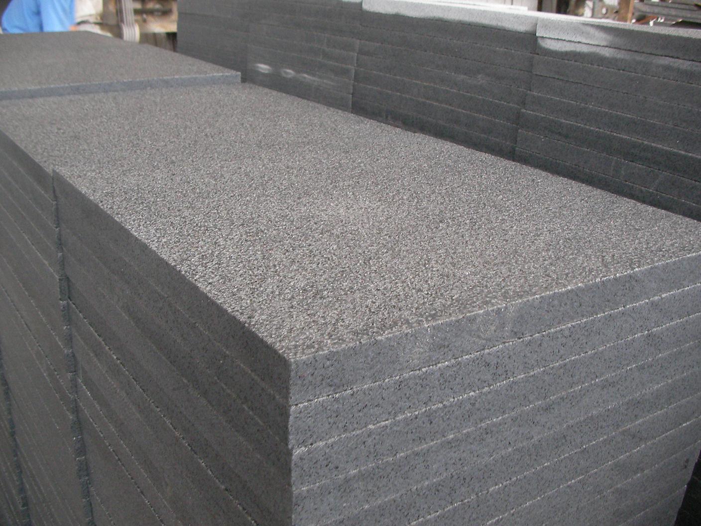 Azulejo del granito del granito flameado g654 azulejo for Baldosas de granito