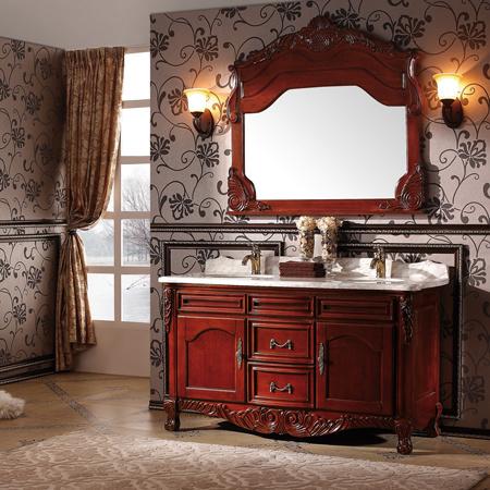 Muebles antiguos retros del cuarto de ba o del estilo for Muebles de cuarto de bano antiguos
