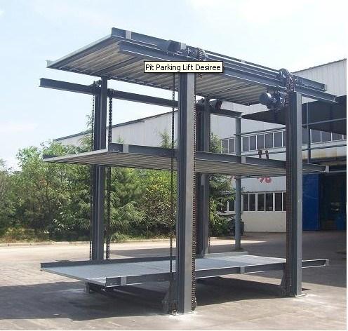 Elevador Cantilever Do Estacionamento Do Carro Elevador