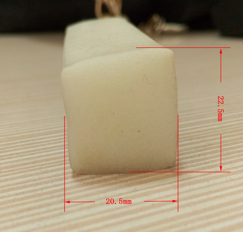 Mousse flexible de r sistance thermique ou cordon carr solide en caoutchouc - Resistance thermique polystyrene ...