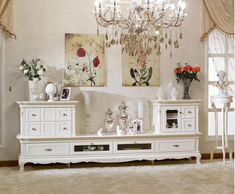 Muebles franceses del sistema de sala de estar del estilo for Muebles franceses