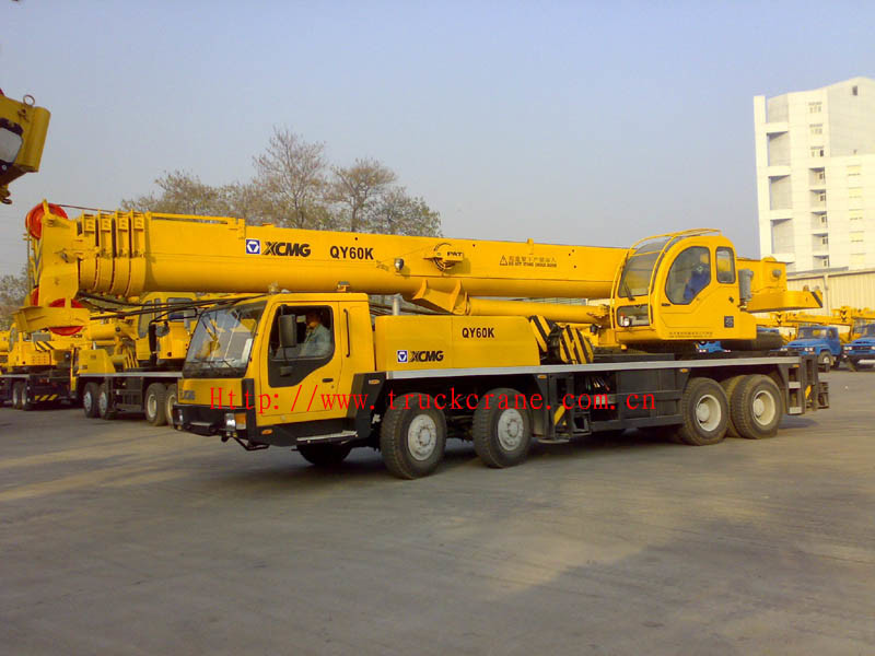 De nuttige lading van de kraan van de vrachtwagen 60 ton qy60k de nuttige lading van de - Vormgeving van de badkamer kraan ...