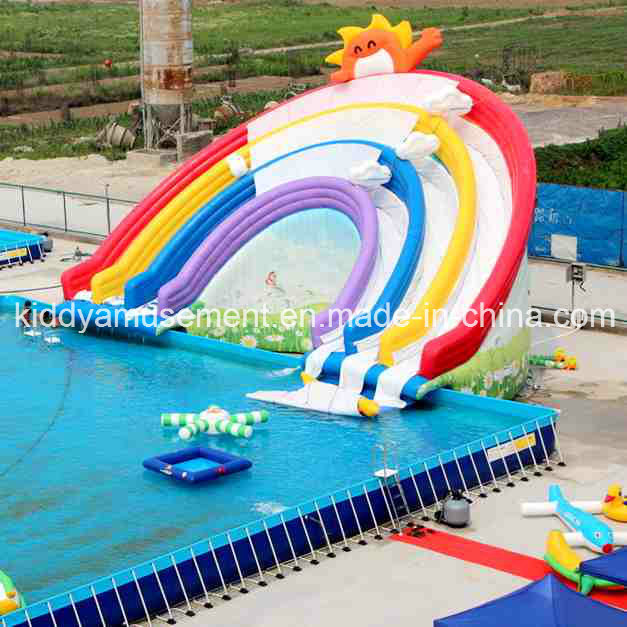 co kiddyamusement image Giant Inflatable Water Toys Slide for Swimming Pool ehgyhrohg IFGTVJpaJYoM