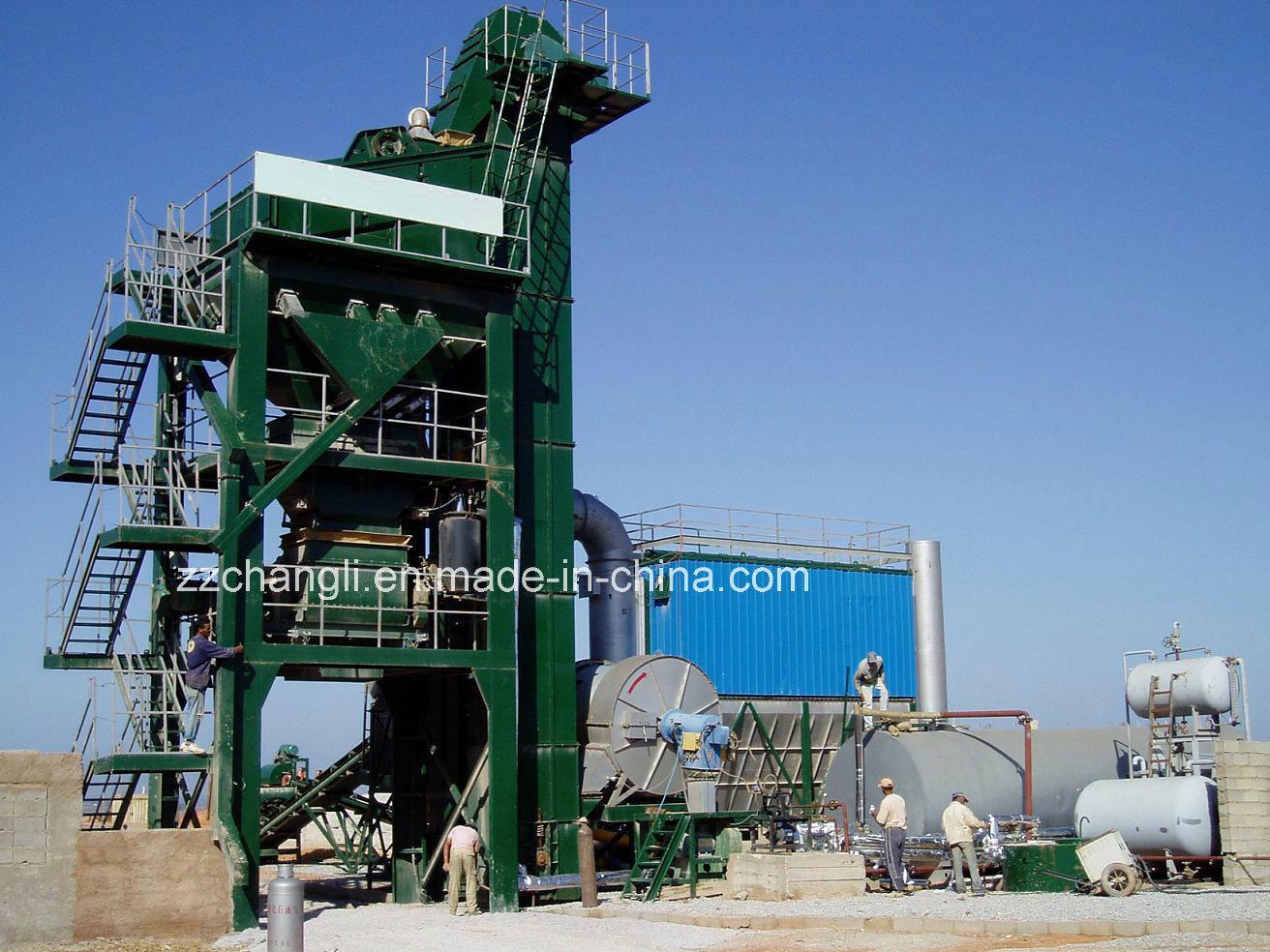 Mini Asphalt Plant : Mini dell impianto asfalto di lb t h