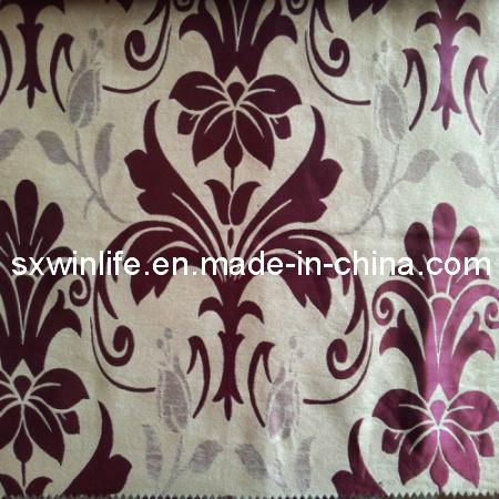 tissu baroque de luxe de rideau en arr t total de jacquard de tissu de rideau sxb154 tissu. Black Bedroom Furniture Sets. Home Design Ideas
