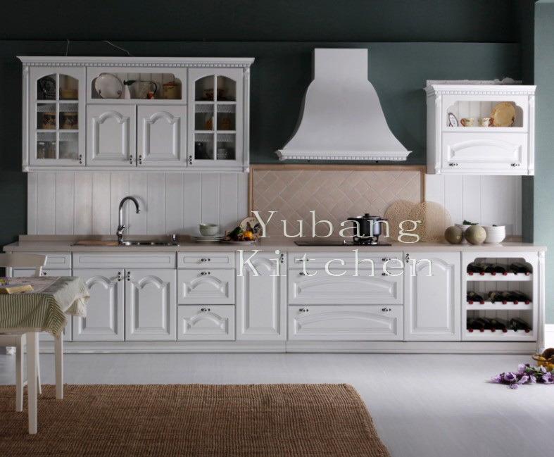 Gabinete de cocina de madera s lida 137 gabinete de for Gabinetes de madera para cocina
