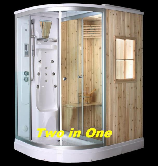 De Douche En Sauna Combo Van De Stoom Th1015 De Douche
