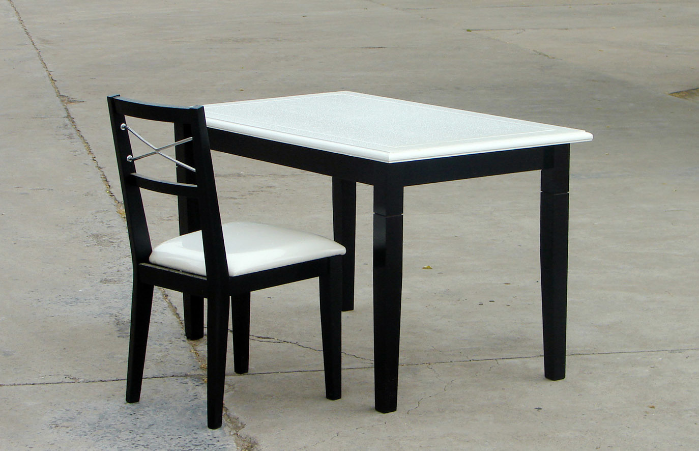 식사 고정되는 단단한 나무 테이블 단단한 나무 의자 (H-H029 ...