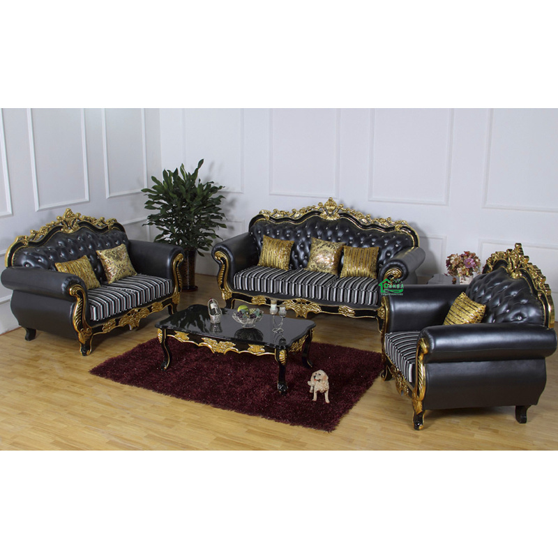Foto de Sofá de madera de la tela para los muebles de la sala de ...