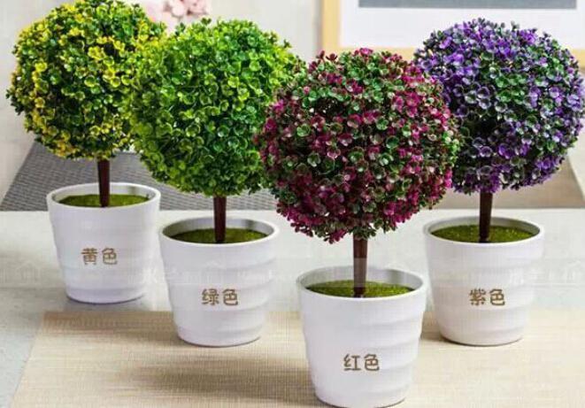 Foto de las plantas pl sticas artificiales y flores de - Arboles artificiales grandes ...