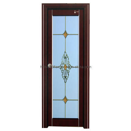 Acero inoxidable Diseño de baño de cristal de la puerta (HY-W208 ...