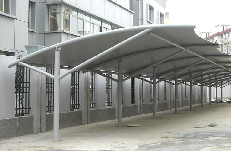 parking l ger pr fabriqu de structure m tallique de toit plat kxd 83 photo sur fr made in. Black Bedroom Furniture Sets. Home Design Ideas