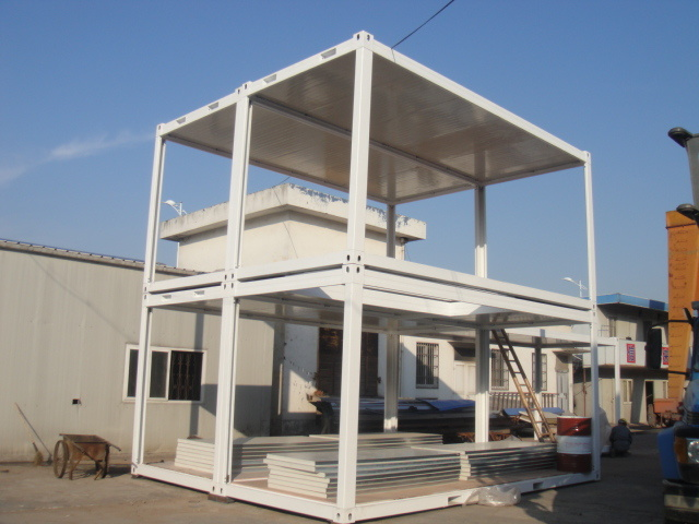Modulair huis bureau modulair huis bureaudoorshanghai yuqian house co ltd voor nederland - Huis roestvrij staal ...