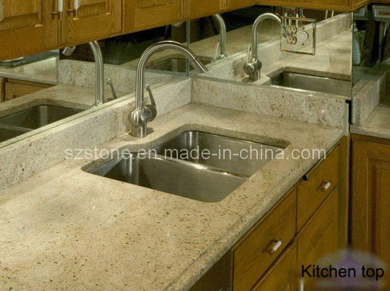 Encimera de piedra para la aplicaci n de cocina encimera for Encimeras de piedra precios