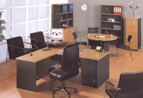 Muebles de oficinas escritorio de offie melamina frniture for 10 muebles de oficina en ingles