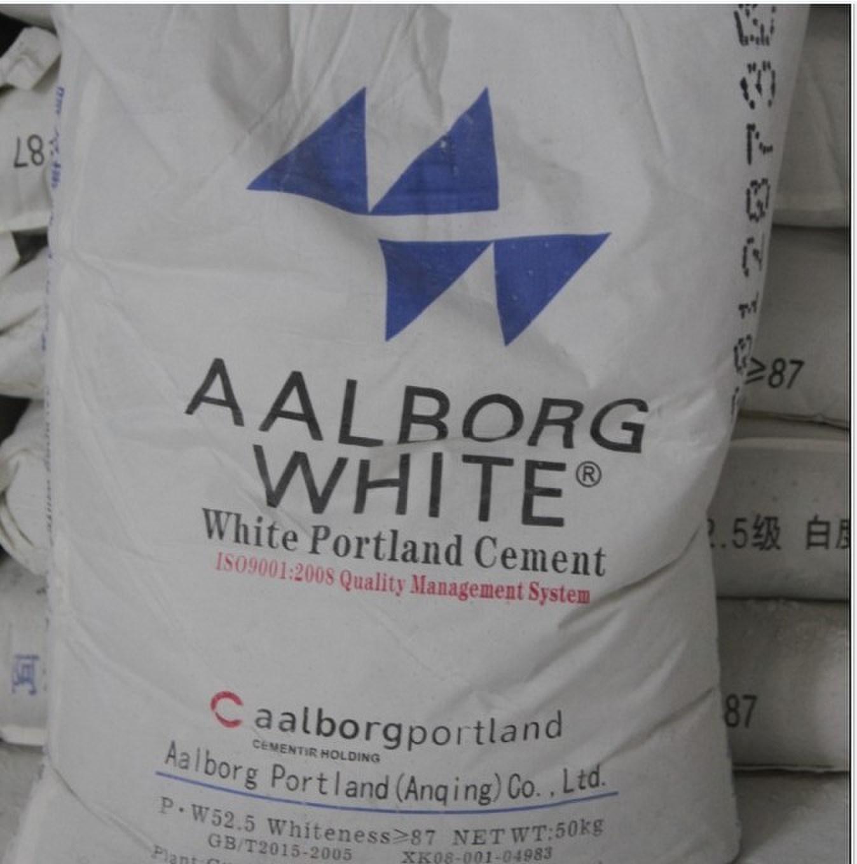 White Portland Cement : Cemento blanco grado