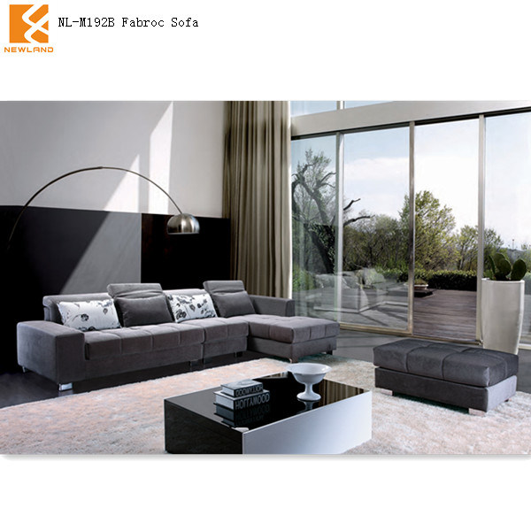 Muebles de Newland, sofás grises 2013 de la sala de estar del modelo