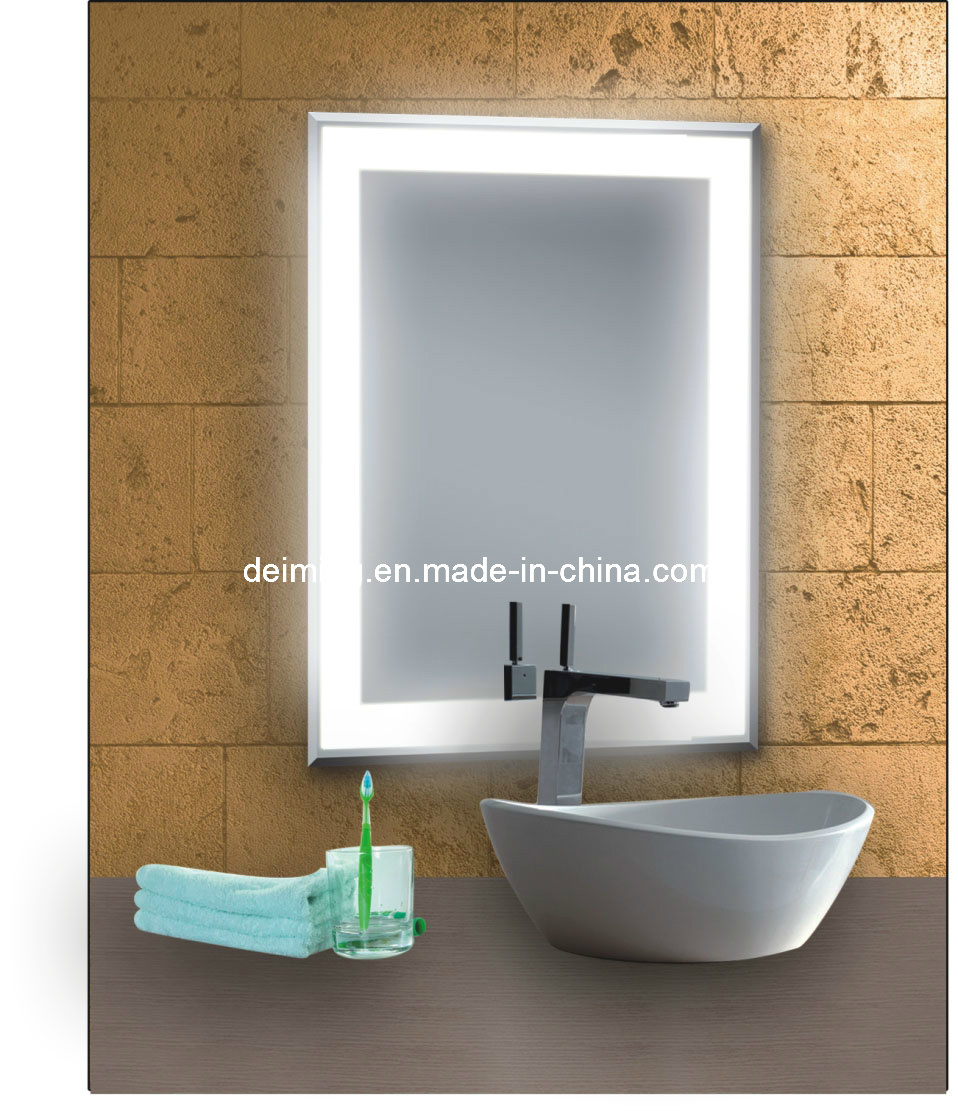 miroir lumineux de salle de bains miroir lumineux de salle de - Miroir Salle De Bain Lumiere Integree