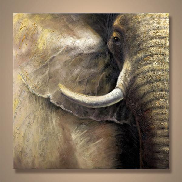 Mano de pintura al óleo animal en lona – Mano de pintura al óleo ...