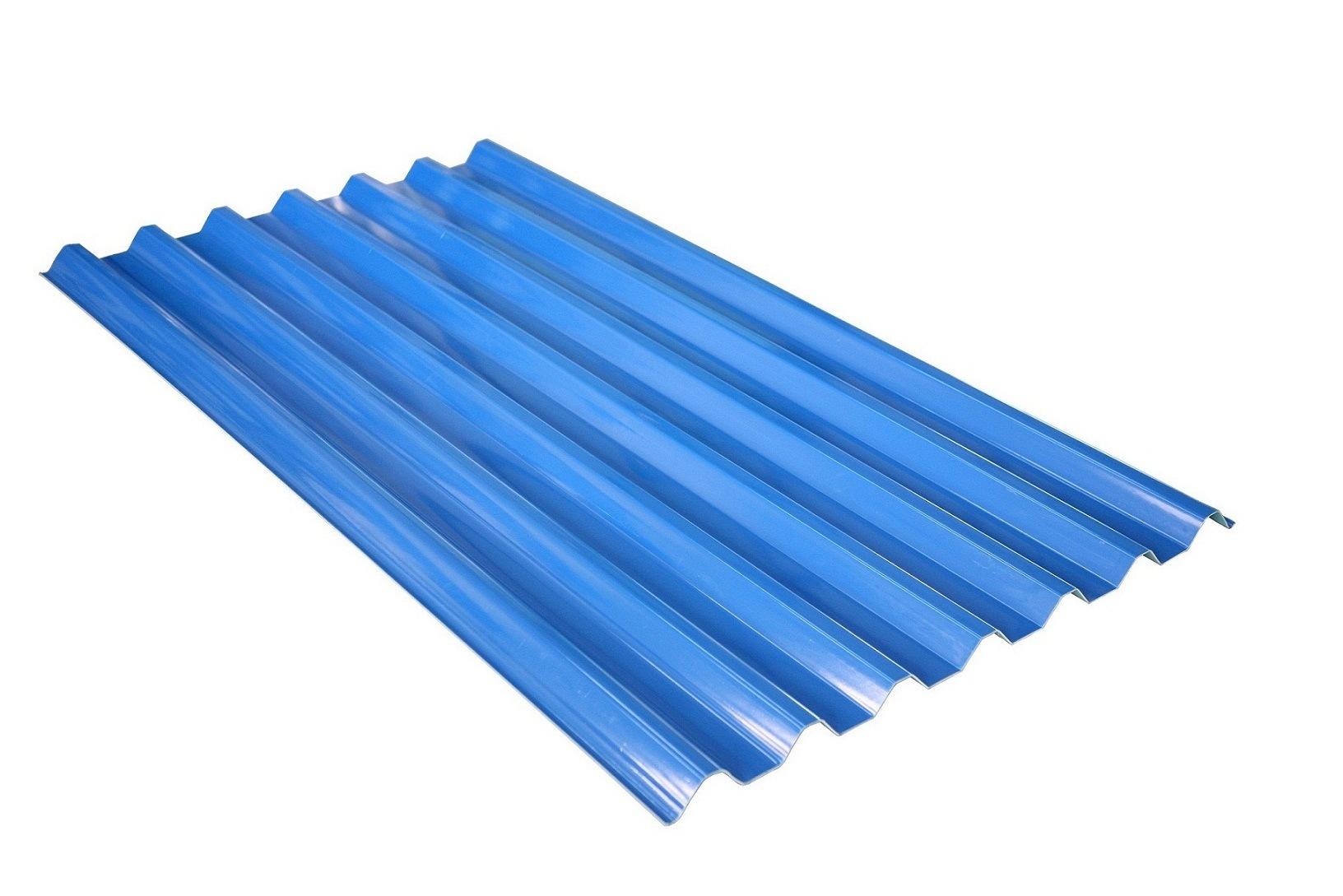 Telha de telhadura plástica do PVC para a anti corrosão (SRT 2  #1254AD 1632x1089