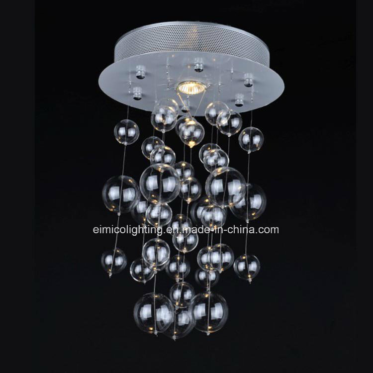 simple merveilleux lustre boule de verre mini lustres en verre de boule de bulle with lustre. Black Bedroom Furniture Sets. Home Design Ideas